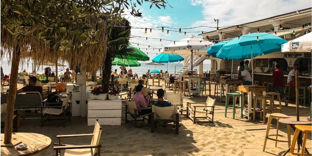 beach bar in varna